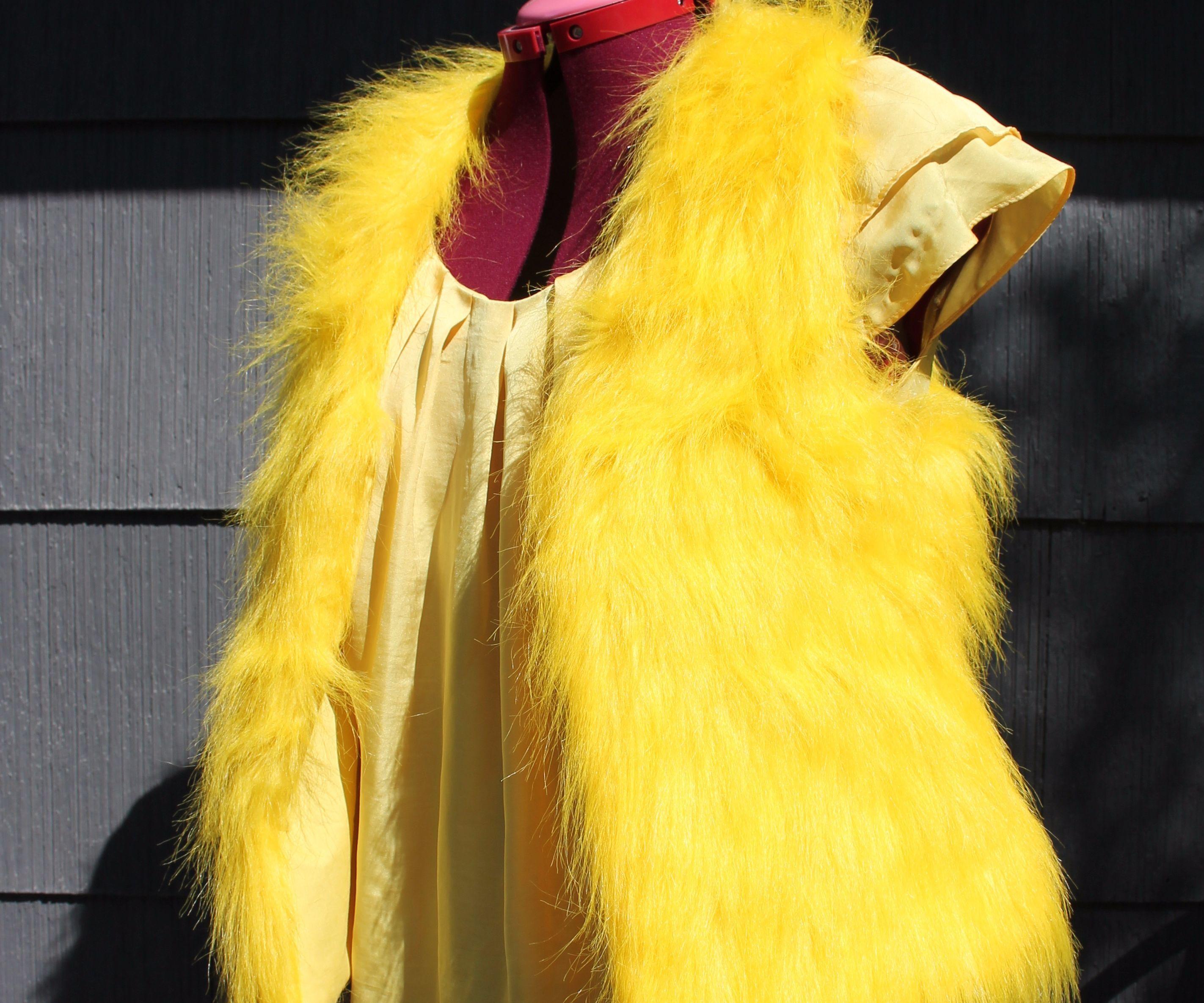 Easy Fun Fur Vest