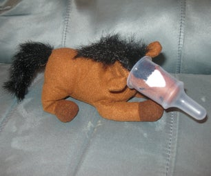 Stuffed Animal Pacifier Holder