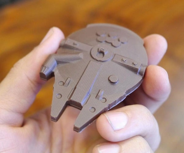 Chocolate Millennium Falcon