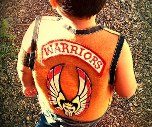 """The WARRIORS"" Vest (no Sewing)"