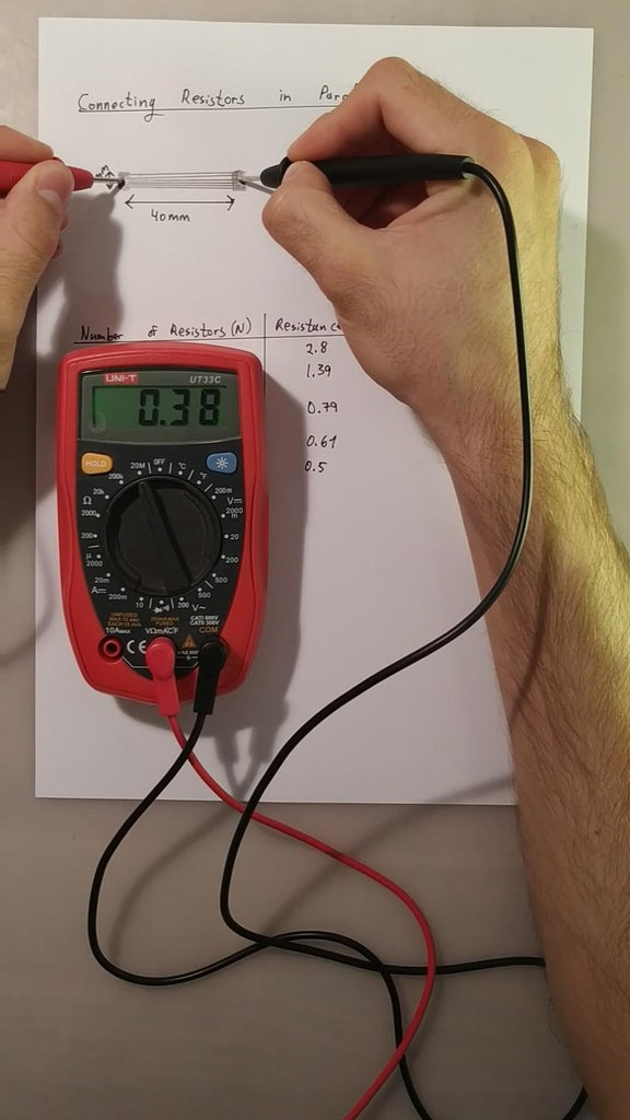 Resistors in Parallel (Experiment)