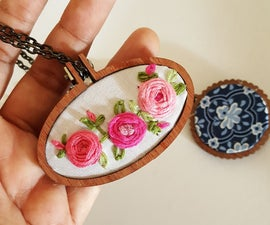 Pocket Sized Embroidery Hoop.
