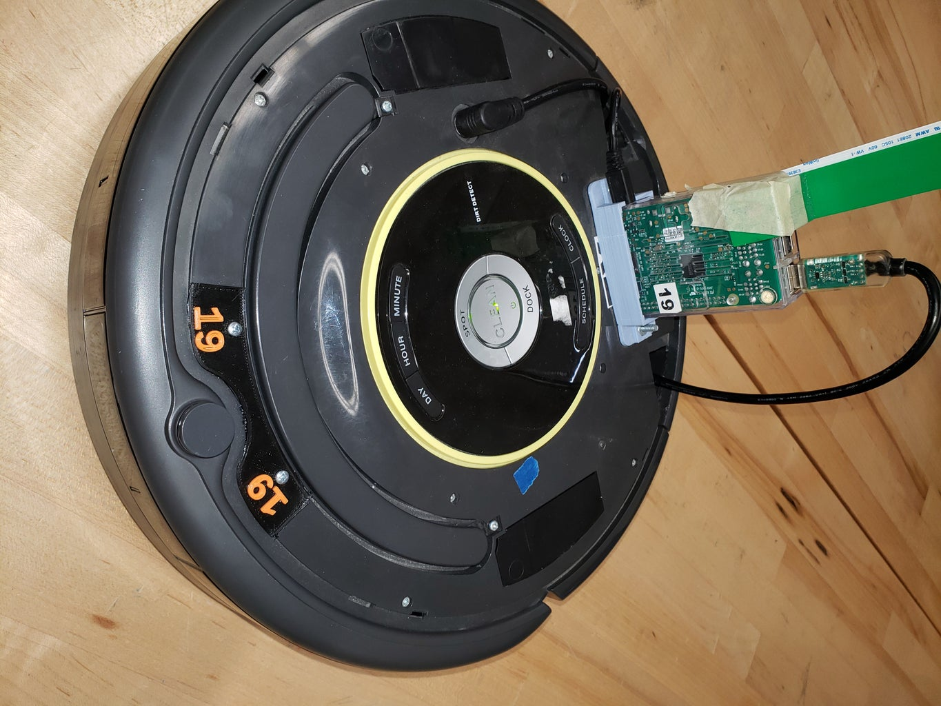 Turning Your Roomba Into a Mars Rover