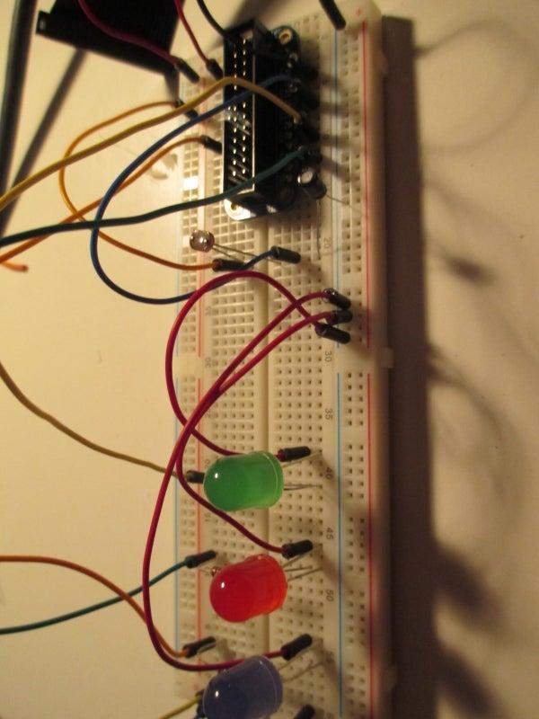 Raspberry Pi Photocell Log and Alert System