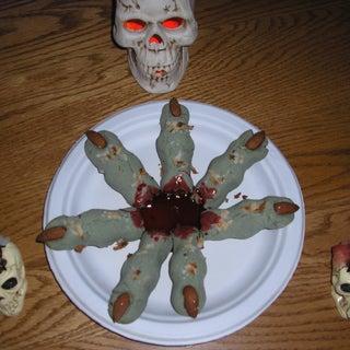 Frankenstein Finger Cookies