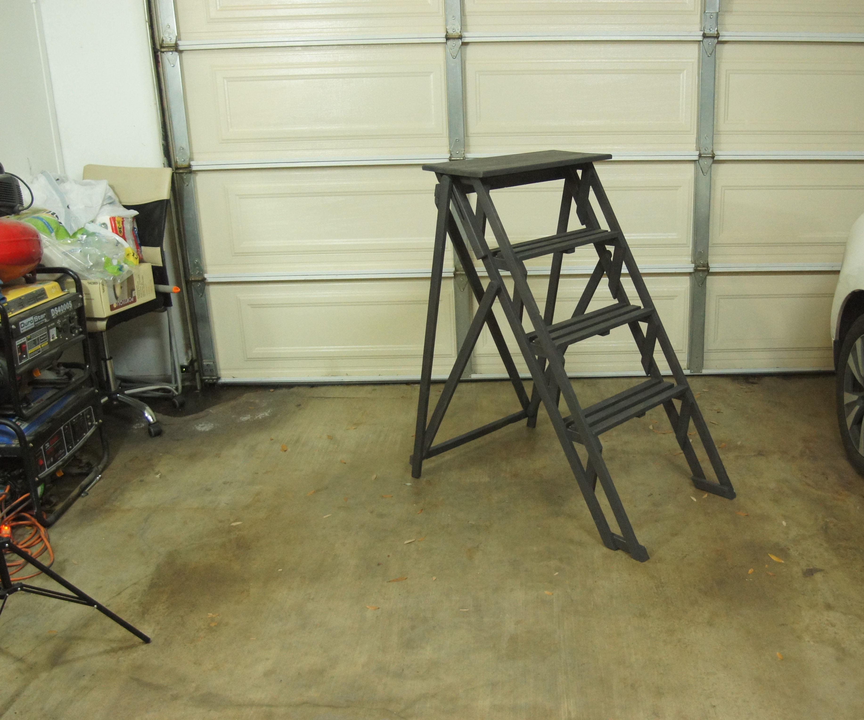 Antique Ladder Replica