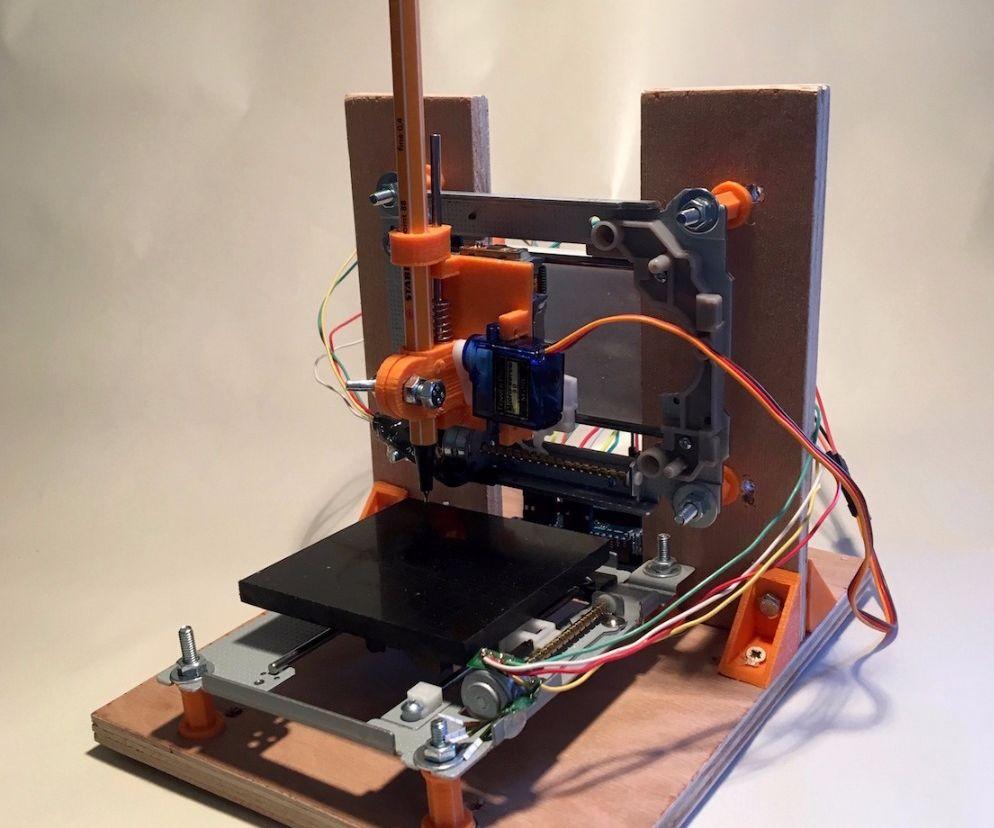 Mini Traceur Arduino - Mini CNC Plotter