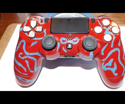 Custom Painted Playstation 4 Controller