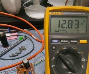 简单的DC  -  DC升压转换器使用555