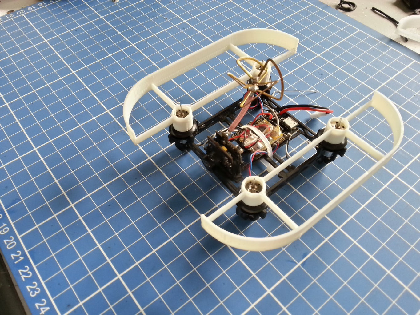 Indoor FPV Drone [Setup,Design and 3D Printing]