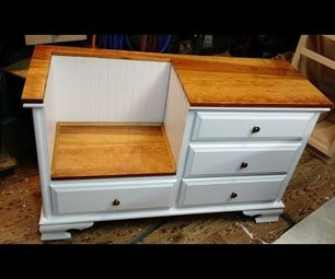Dresser to Bench Thingy