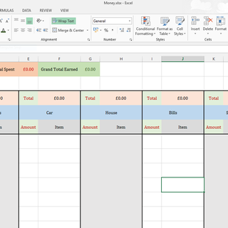 Intro to Excel: Expense Tracker