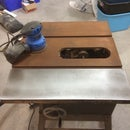 Vintage Table Saw Refinishing