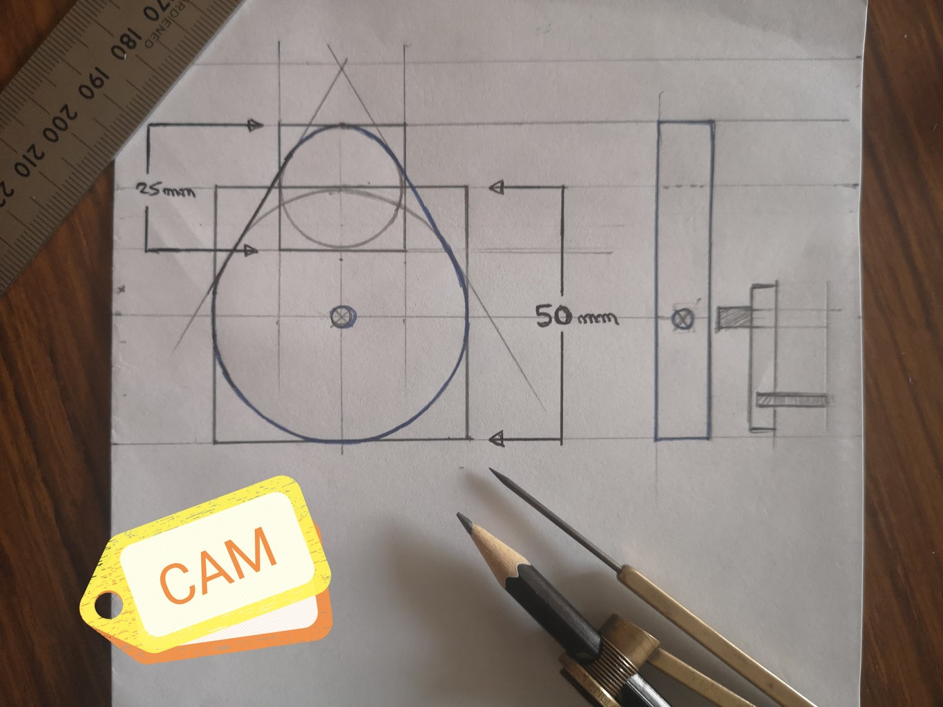 Making the Cam Mechanism