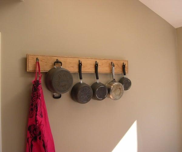 Pot Rack With Banding Inlay