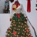 Mannequin Christmas Tree