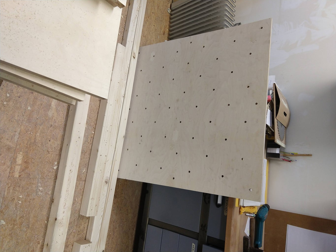 Making the Straight Parts and the Panels