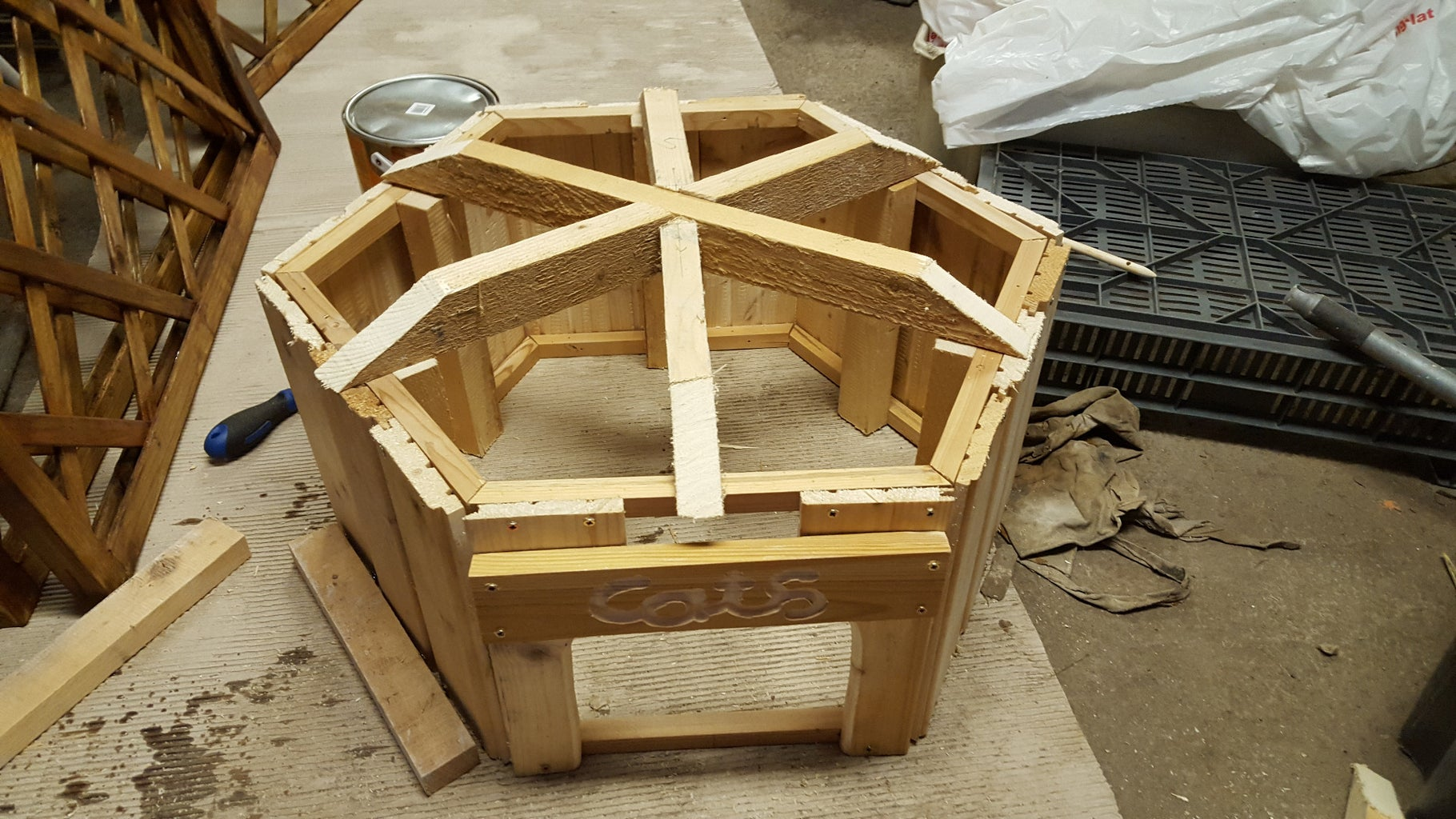 Step 5: Create the Roof Joints