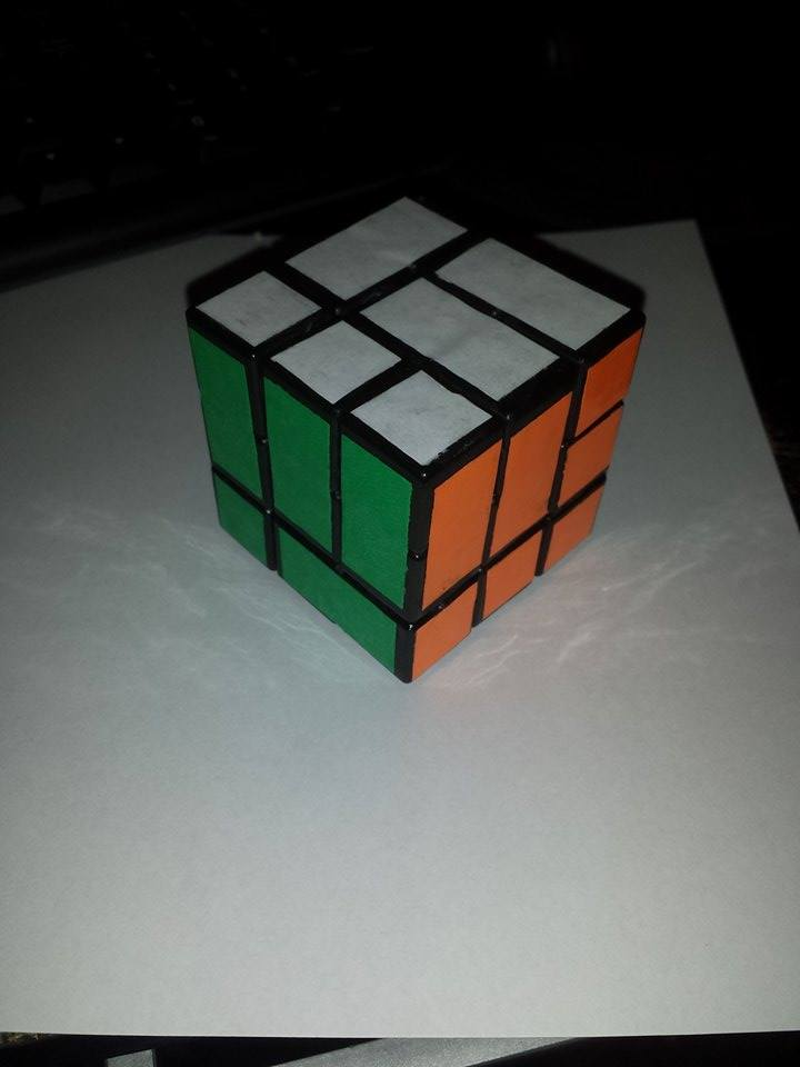 How to make your own personalized rubik's cube