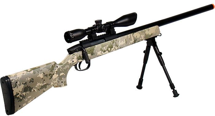 Custom M324 Airsoft Rifle
