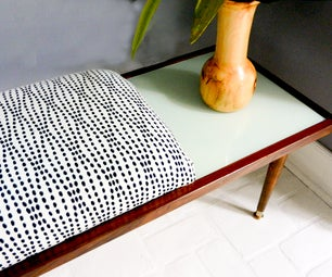 Turn a Goodwill Dog Into a Slick Upholstered Bench