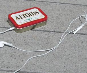 Secret Altoids IPod Case