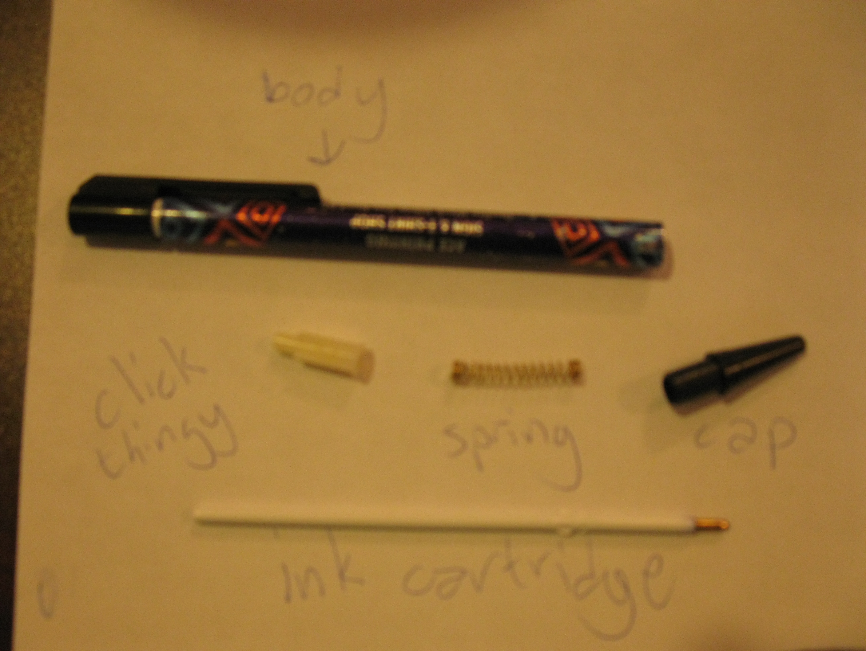 Ballistic Pen