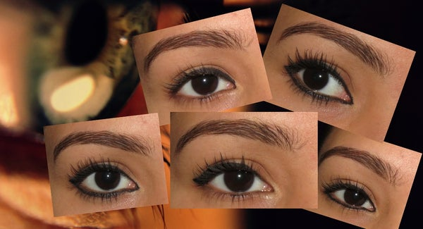 Achieve a Different Eye Shape Using Eyeliner.....
