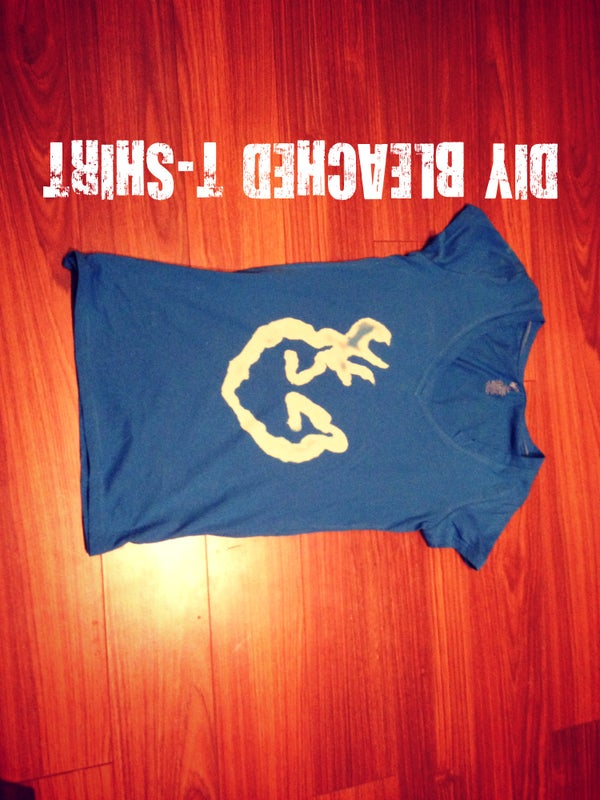 DIY Bleach Tshirt Design