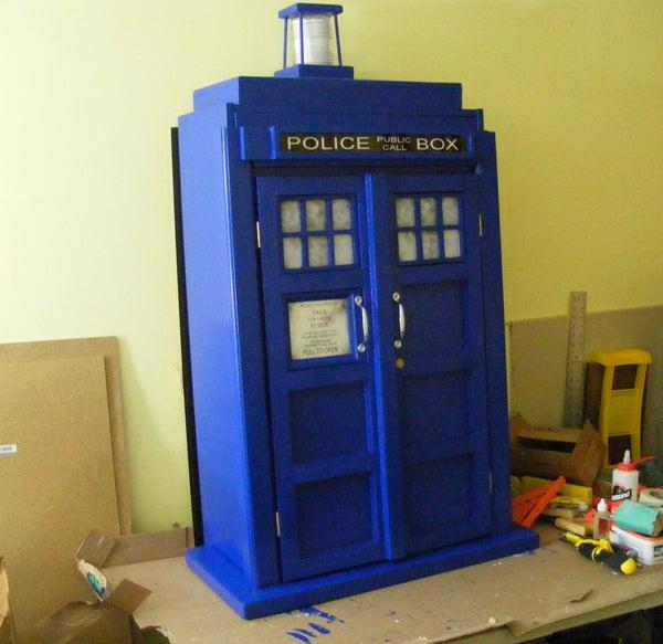 TARDIS Bookcase Cupboard - Goodhart Maker Den of Unequity Storage Cabinet