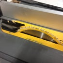 Make a Riving Knife for the DW745 Tablesaw