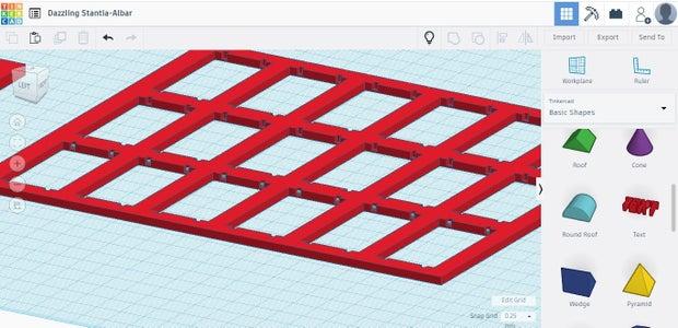 Placing Slide Stops in Frame