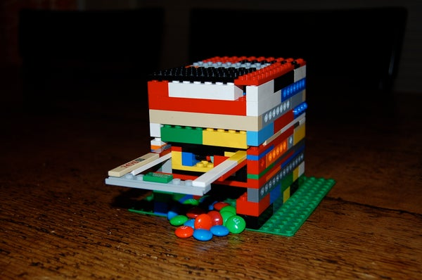 How to Make a Lego Candy Machine