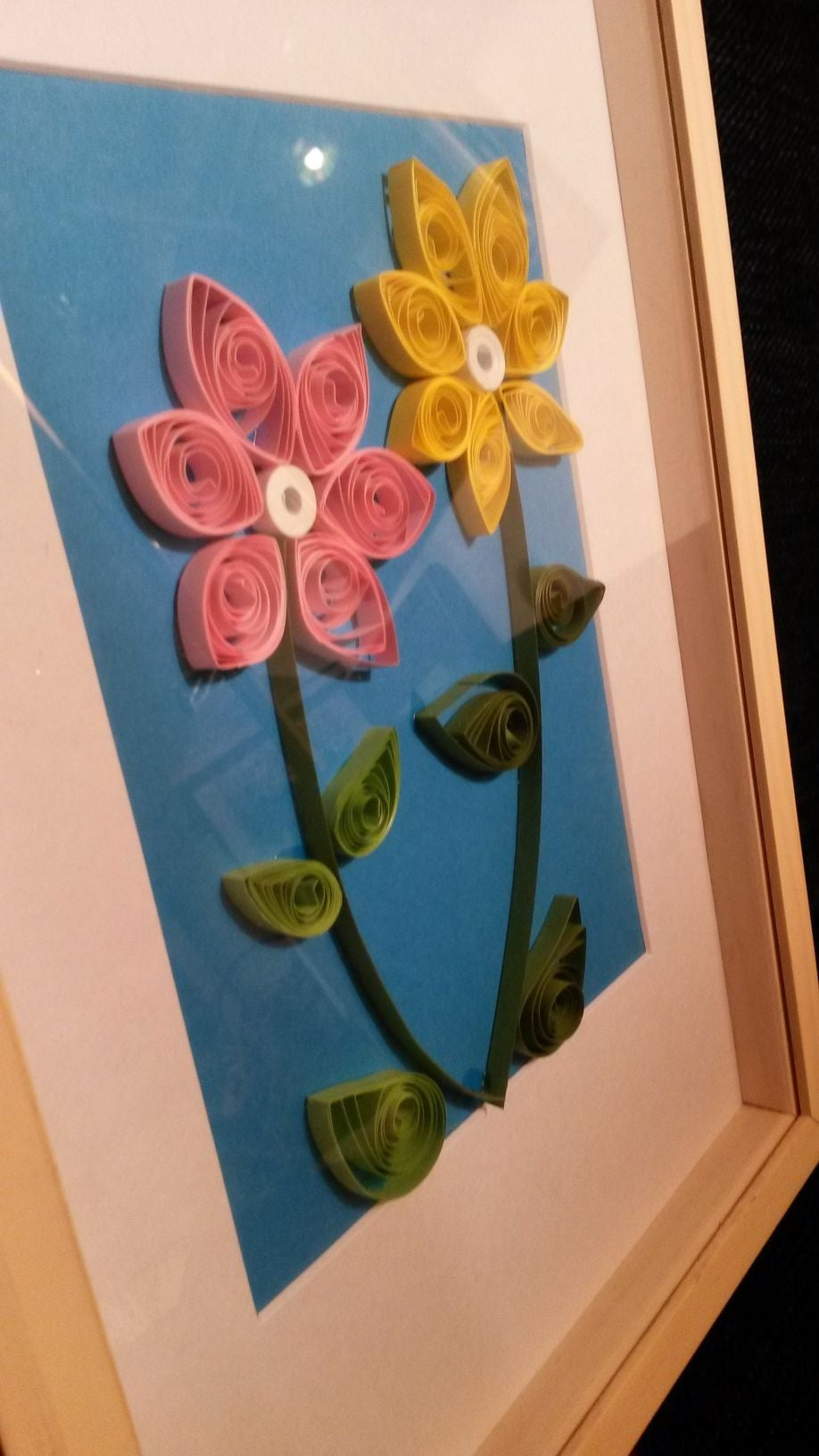 Quick Quilling Gift for Mother's Birthday