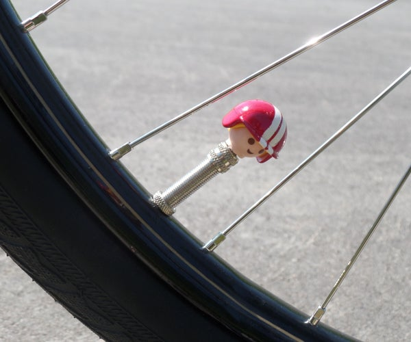 Playmobile Bicycle Valve Caps