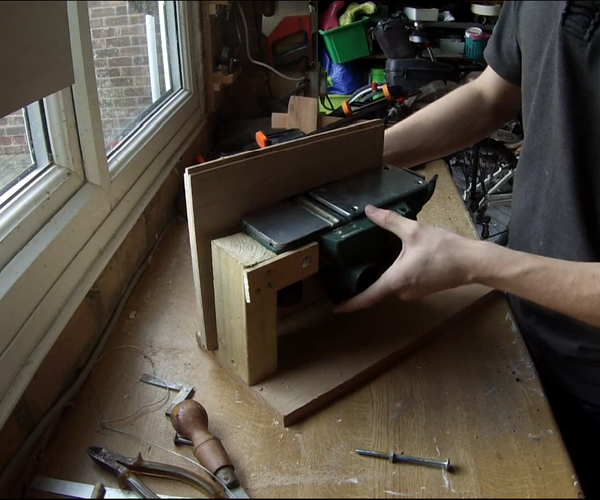 build a planner/jointer bench mount