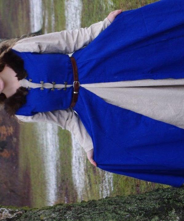 Medieval Inspired, Blue Dress