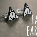 DIY FANDOM EARRINGS
