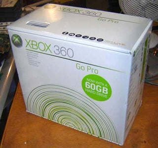 External Xbox 360 Hard Drive (HDD)