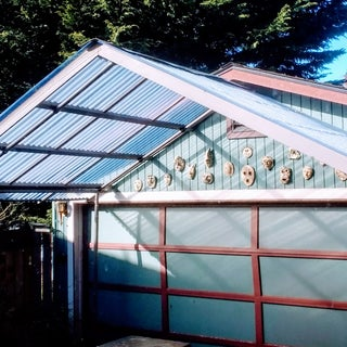 Replace Canvas Roof With Corrugated Steel