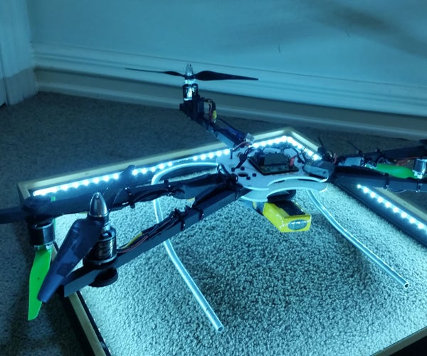 Dragonfly/Pentacopter Project