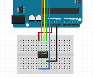 Programming ATtiny Micro Controllers With Arduino UNO.
