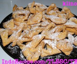 Fried Rum Cookies!