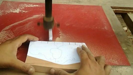 Cut the Design Using Scrollsaw