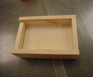 Wood Made Precision Instrument  Box