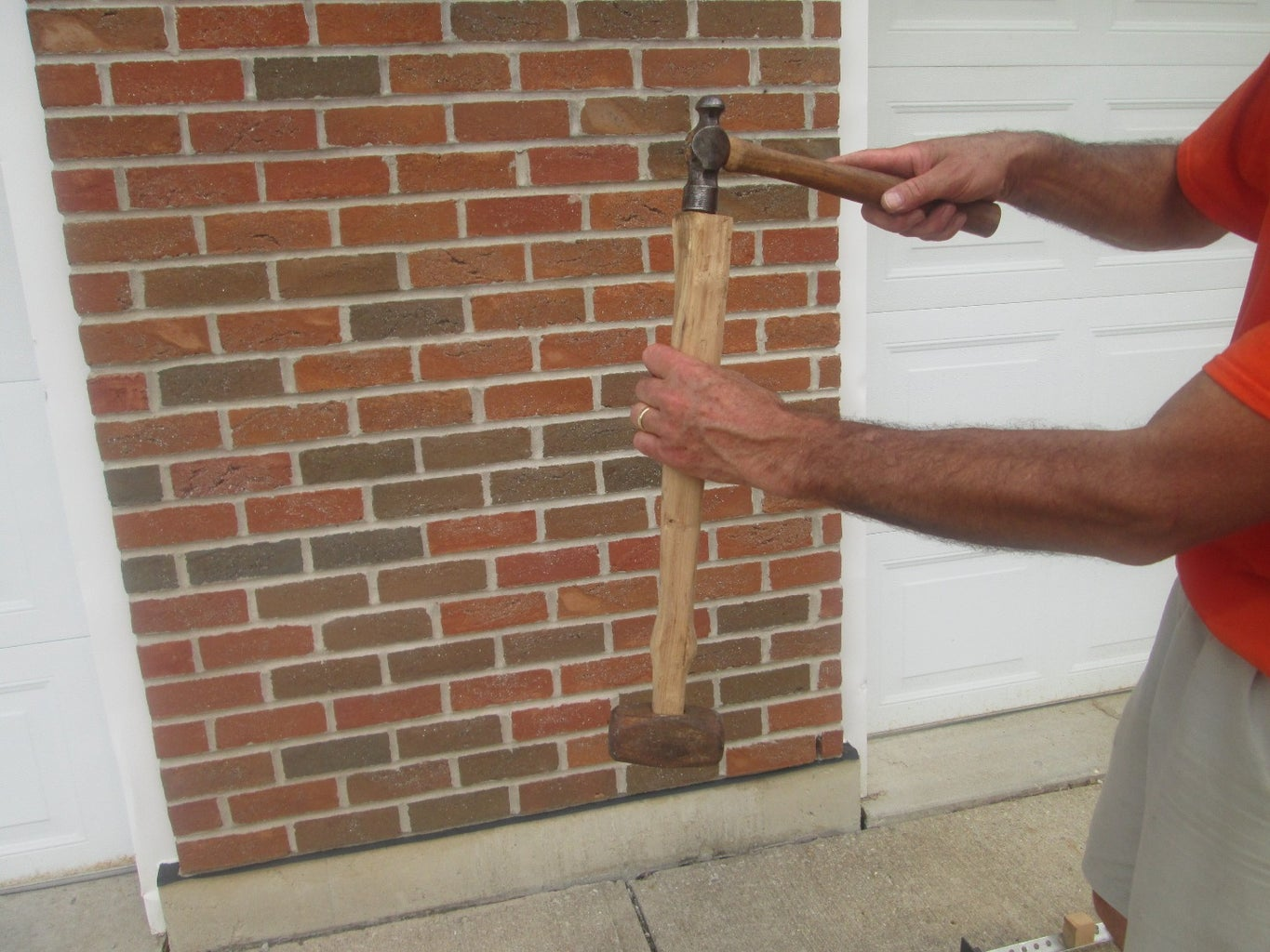 Fitting the Hammer Head Try 1