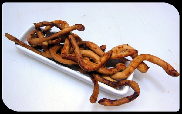 Cheese Snack Snakes - That Bite Back