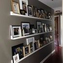 Gallery Wall Photo Ledges