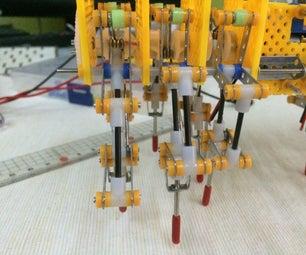 设计机器人的腿