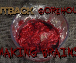 Make Fake Edible Brains to Splatter for Your Horror Film.